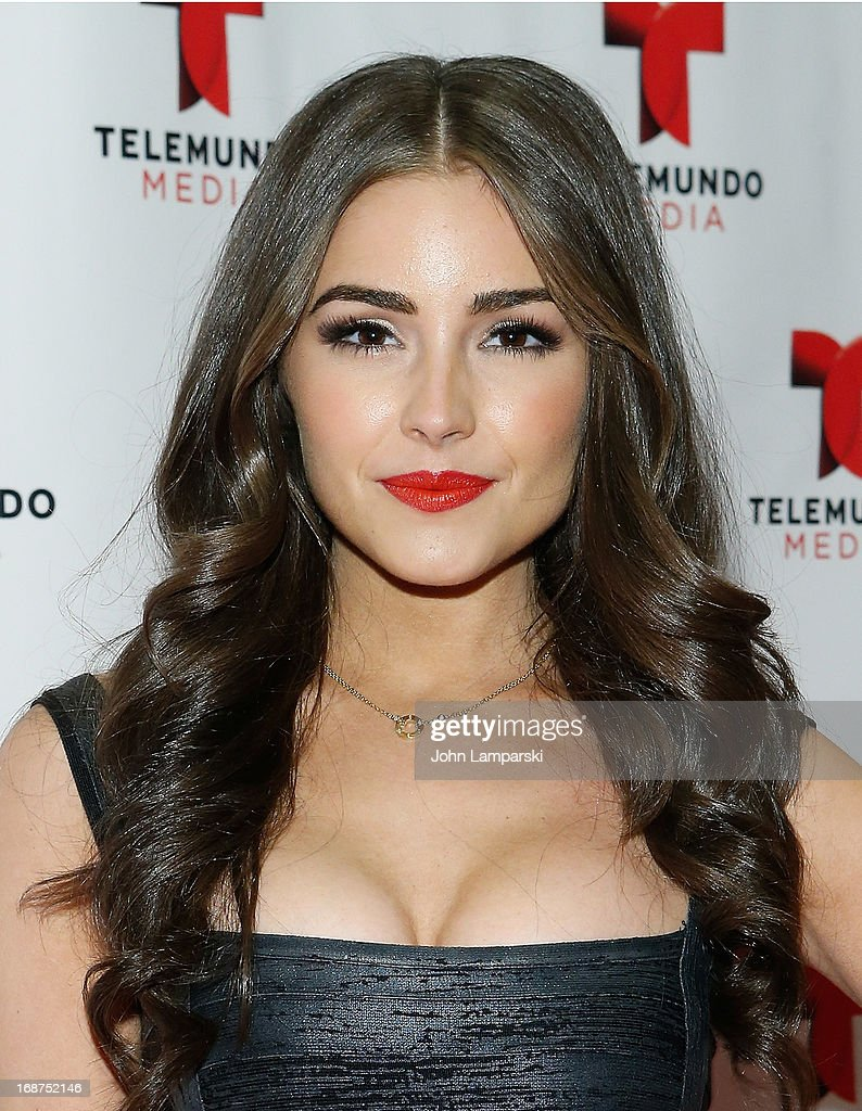 Miss Universe Olivia Culpo (shoe detail) attends the 2013 Telemundo Upfront at Frederick P. Rose Hall, Jazz at Lincoln Center on May 14, 2013 in New York City.