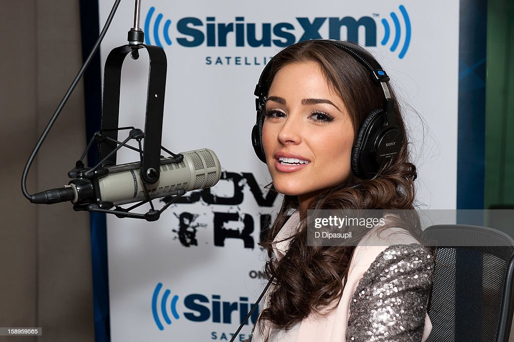 Miss Universe Olivia Culpo visits 'The Covino & Rich Show' at the SiriusXM Studios on January 4, 2013 in New York City.