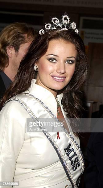 Miss Universe Oxana Fedorova