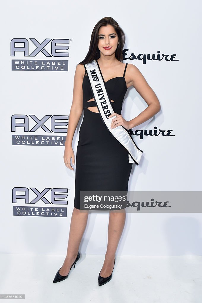 Miss Universe Paulina Vega attends as AXE and Esquire present the AXE White Label Collective during the opening night of New York Fashion Week on September 10, 2015 at Pop14 in New York City.
