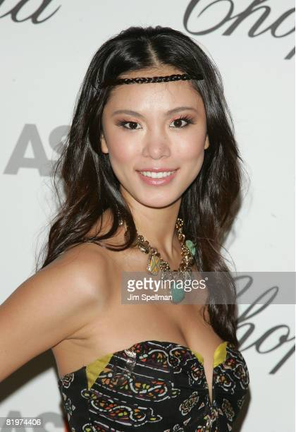 Miss Universe Riyo Mori attends the 11th Annual ASPCA Bergh Ball at the Plaza Hotel on April 17 2008 in New York City