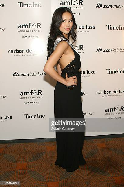 Miss Universe Riyo Mori during Amfar 7th Annual Honoring With Pride at The Rainbow Room at 30 Rockefeller Plaza in New York City New York United...