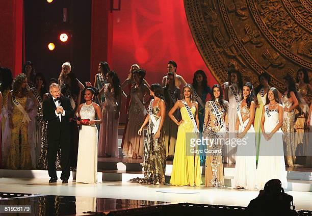 Miss Universe top 5 finalists Miss Colombia Taliana Vargas Miss Venezuela Dayana Mendoza Miss Dominican Republic Marianne Cruz Gonzaleaz Miss Mexico...
