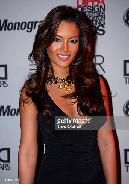 Miss Universe Zuleyka Rivera during Design Industries Foundation Fighting AIDS Dining by Design Benefit February 26 2007 at The Waterfront Building...