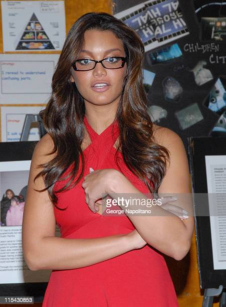 Miss Universe Zuleyka Rivera during Zuleyka Rivera Joins Forces with Children of the City to Battle Educational Hurdles for the Underprivileged...