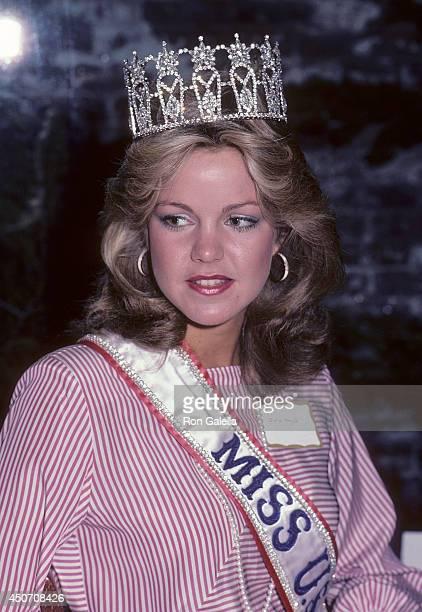 Julie Hayek Miss Universe 1983 Sto...