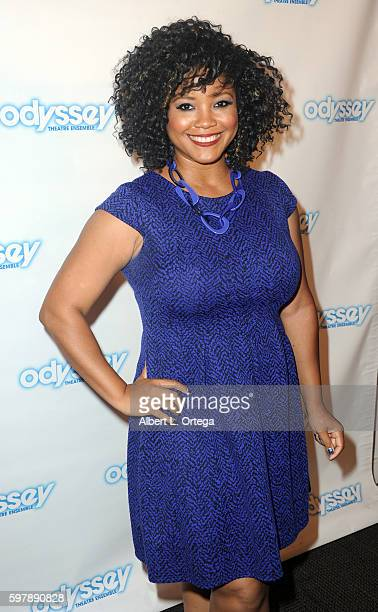 Miss USA 2002 Shauntay Hinton arrives for the Reading Of 'The Blade Of Jealousy/La Celsa De Misma' held at The Odyssey Theatre on August 29 2016 in...