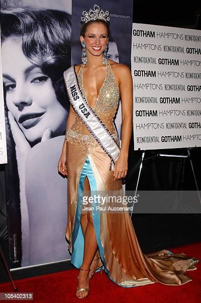 Miss USA 2004 Shandi Finnessey during The 53rd Annual Miss USA Competition After Party Arrivals at Avalon in Hollywood California United States