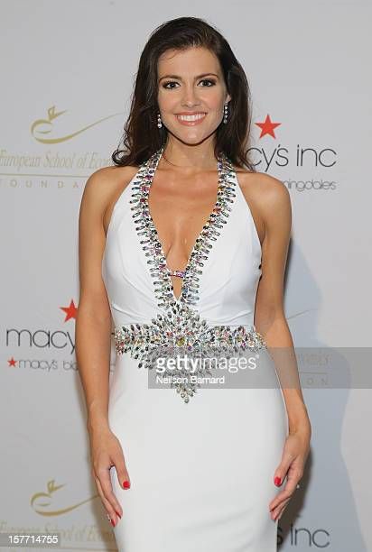 Miss USA 2005 Chelsea Cooley attends European School Of Economics Foundation Vision And Reality Awards on December 5 2012 in New York City