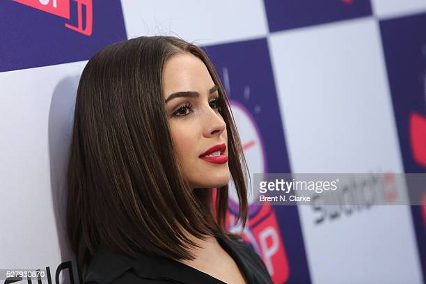 Miss USA 2012 Olivia Culpo attends the Swatch Times Square flagship store opening and launch of the POP Collection on May 3 2016 in New York City