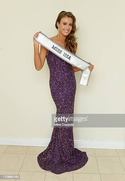 Miss USA 2013 Erin Brady poses during a photo shoot on June 19 2013 in New York City