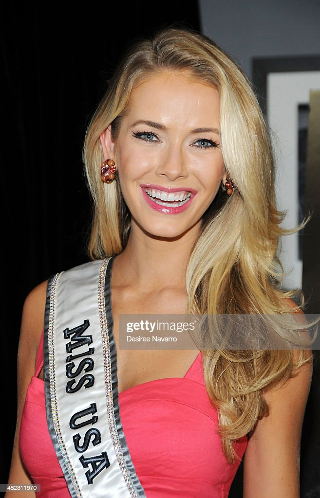 Miss USA 2015 Olivia Jordan attends her 'Life on the Ramona Coaster' book launch event at Beautique on July 29, 2015 in New York City.