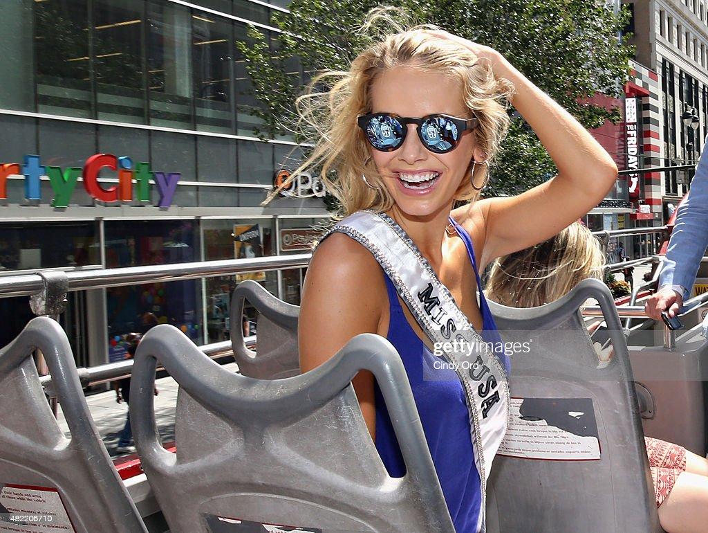 Miss USA 2015 NYC Media Tour