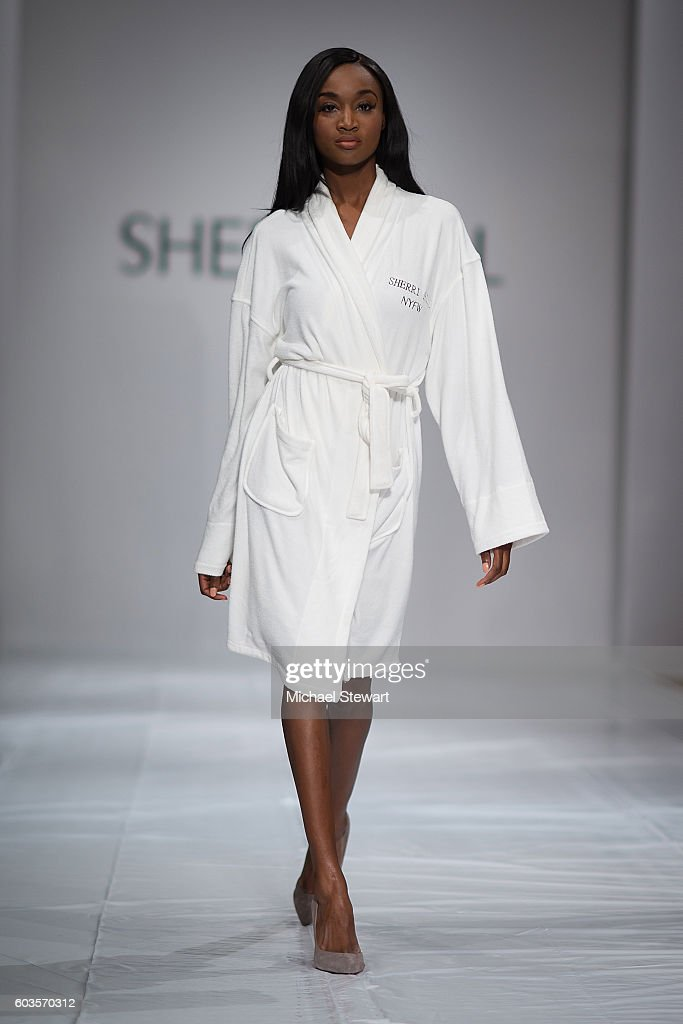 Miss USA 2016 Deshauna Barber attends the Sherri Hill fashion show during September 2016 New York Fashion Week: The Shows at Gotham Hall on September 12, 2016 in New York City.