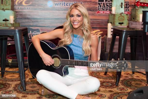 Miss USA 2017 contestant Kelsey Weier Miss Iowa USA 2017 at Nashville Unplugged at Mandalay Bay Resort and Casino on May 6 2017 in Las Vegas Nevada
