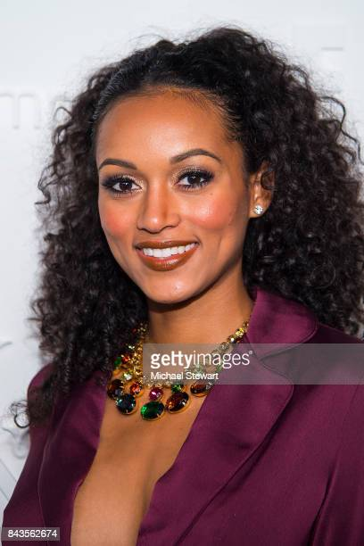 Miss USA 2017 Kara McCullough attends ELLE E IMG host A Celebration of Personal Style NYFW Kickoff Party on September 6 2017 in New York City