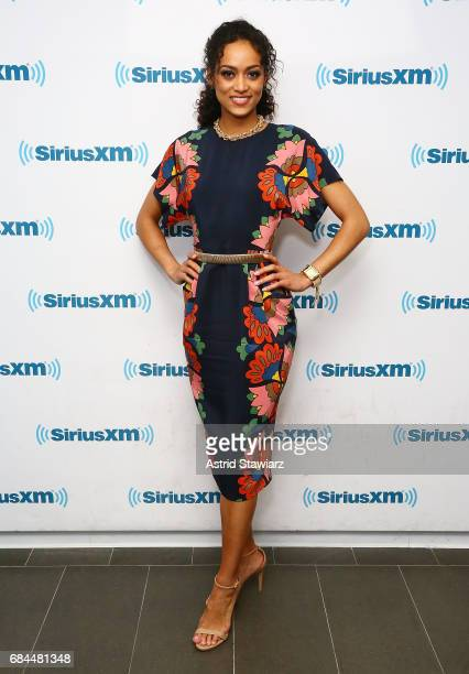 Miss USA 2017 Kara McCullough visits the SiriusXM Studios on May 18 2017 in New York City