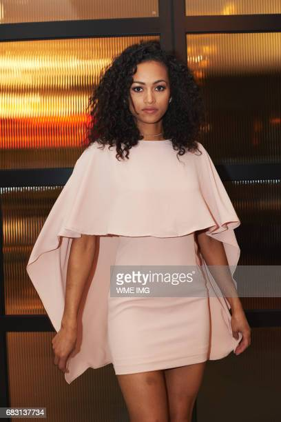 Miss USA 2017 winner Kára McCullough Miss District Of Columbia during a photo shoot at Libertine Social in Mandalay Bay Resort and Casino on May 5...