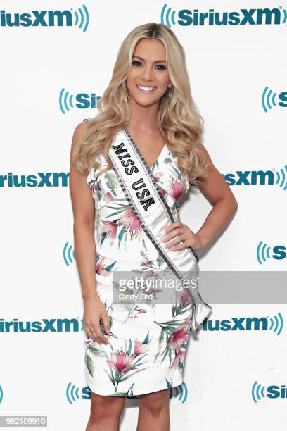 Miss USA 2018 Sarah Rose Summers visits the SiriusXM Studios on May 24 2018 in New York City