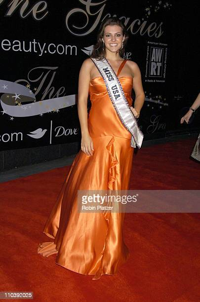 Miss USA Chelsea Cooley during American Women in Radio Television 30th Annual Gracie Allen Awards at New York Marriot Marquis Hotel in New York City...