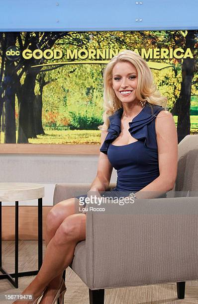 AMERICA Miss USA contestant Allyn Rose appears on 'Good Morning America' 11/19/12 airing on the ABC Television Network ALLYN