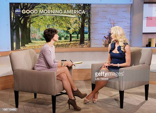 AMERICA Miss USA contestant Allyn Rose appears on 'Good Morning America' 11/19/12 airing on the ABC Television Network ELIZABETH