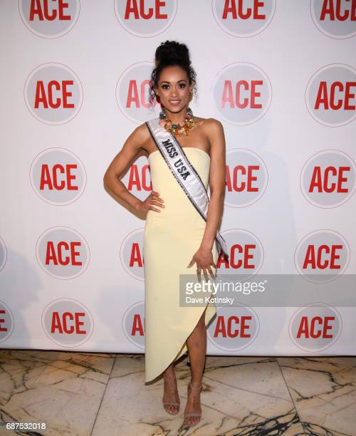 Miss USA Kara McCullough attends the 2017 ACE Gala at Capitale on May 23 2017 in New York City