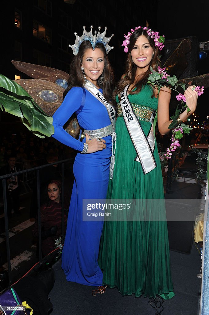 Miss USA Nia Sanchez and Miss Universe Gabriela Isler attend the Rubenstein Public Relations  sc 1 st  Getty Images & Rubenstein Public Relations Features Never Never Land Float In The ...