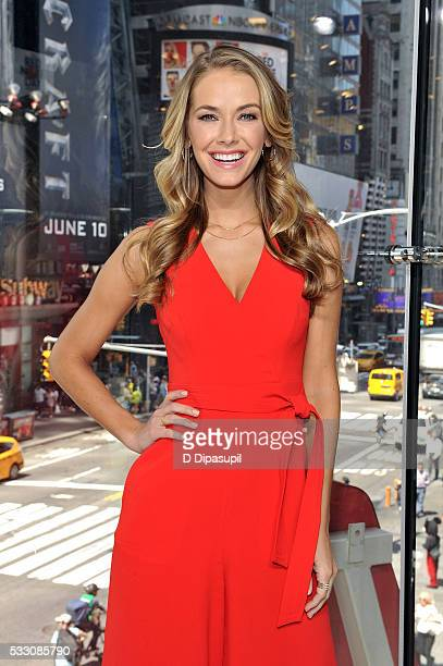 Miss USA Olivia Jordan visits Extra at their New York studios at HM in Times Square on May 20 2016 in New York City