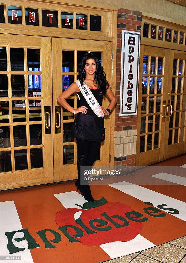 Miss USA Rima Fakih Raises Breast Cancer Awareness For Gilda's Club