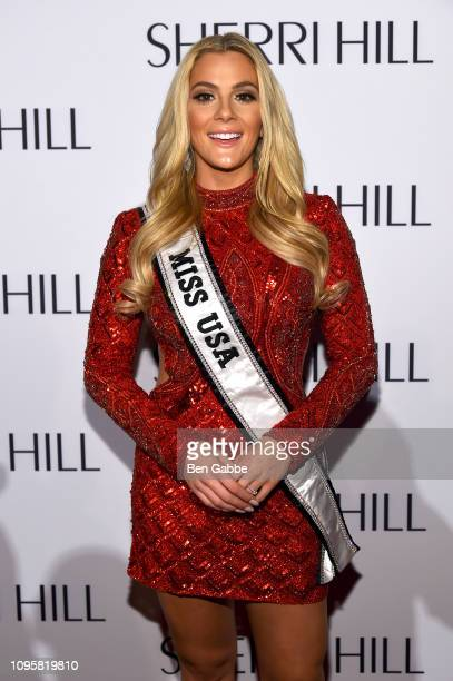 Miss USA Sarah Rose Summers attends the Sherri Hill Show during New York Fashion Week February 2019 on February 8 2019 in New York City