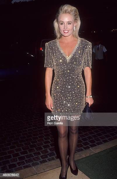 "Miss USA1991 Kelli McCarty attends the Sixth Annual ""Night Under the Stars"" Gala to Benefit the Muscular Dystrophy Association on May 9, 1992 at the..."