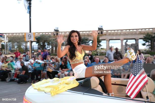 Miss Utah 2017 JessiKate Riley participates during Miss America 2018 Show Me Your Shoes Parade on September 9 2017 in Atlantic City New Jersey