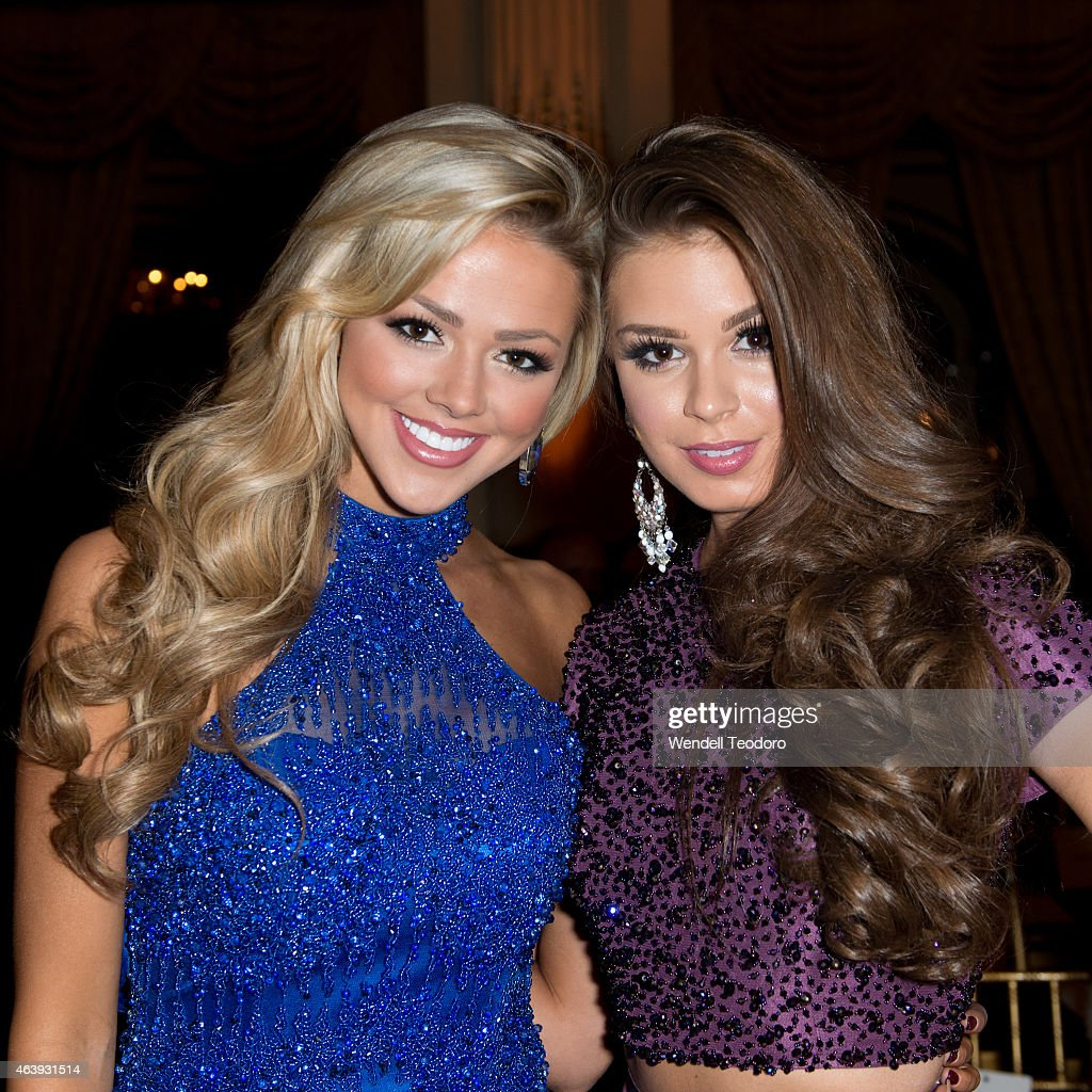 Angie Layton Pics miss utah angie layton and summer priester attends the