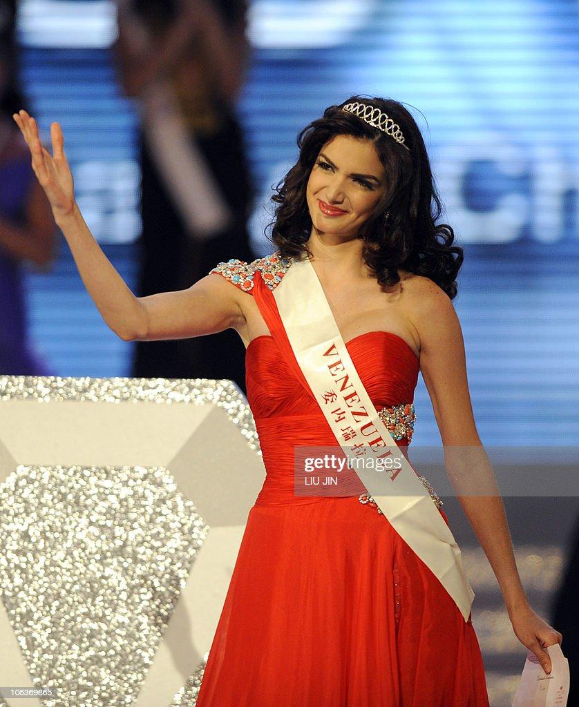 Miss World 2010 Pageant: Adriana Vasini - Miss World