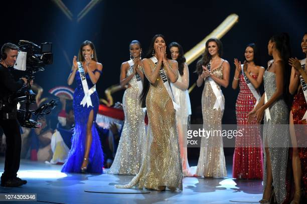 TOP 5 Miss Venezuela Sthefany Gutierrez during the 2018 MISS UNIVERSE competition airing live from Bangkok Thailand on Sunday Dec 16 on FOX