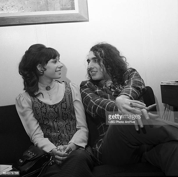 Miss Vicki and Tiny Tim photographed for THE ED SULLIVAN SHOW Image dated January 7 1970