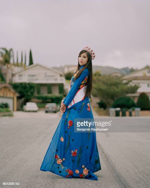 Miss Vietnam California 2016 Minh Tranle poses for a portrait in San Jose California When citizenship was first defined by Congress in 1790 they...