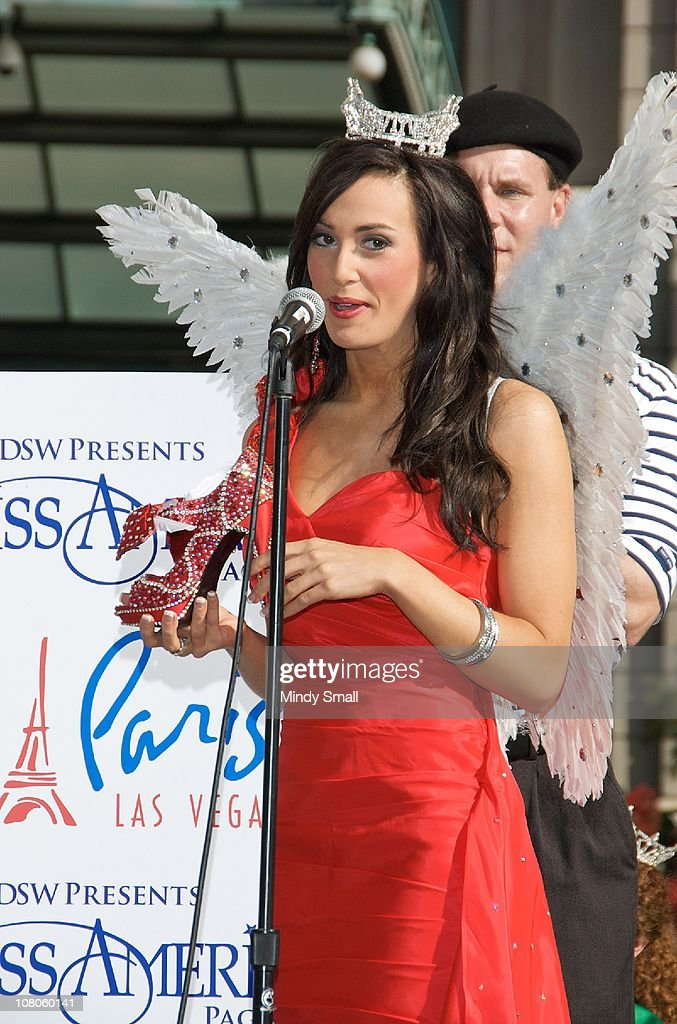 Miss Virginia Caitlin Uze attends the 2011 Miss America's 'Show Us Your Shoes' Parade at Paris Las Vegas on January 14, 2011 in Las Vegas, Nevada.