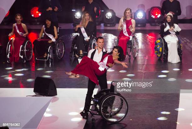 Miss Wheelchair World 2017 in Warsaw The first in the world miss on wheelchairs competitions 07 October Warsaw Poland