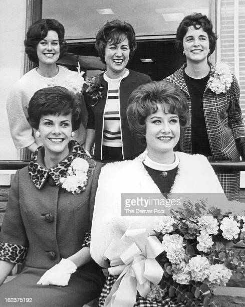 APR 1 1963 DEC 4 1963 Miss Wool Entrants Depart Miss Wool nominees from five Rocky Mountain States leave Denver for San Angelo Tex to take part in...