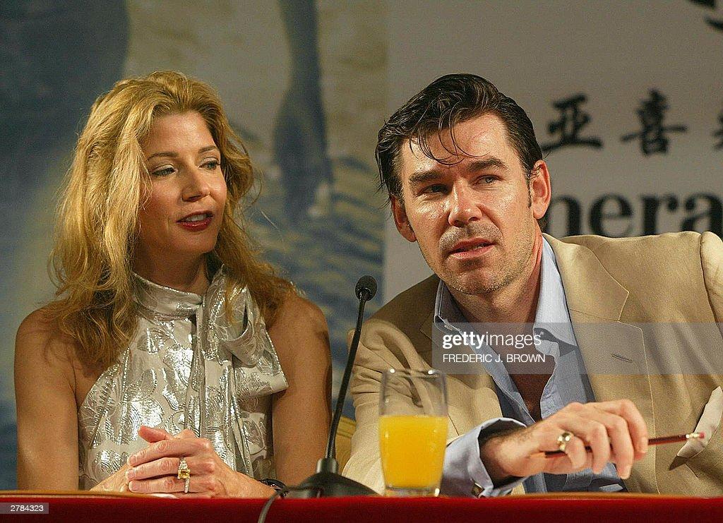 Miss World 2003 judges, Candace Bushnell : News Photo