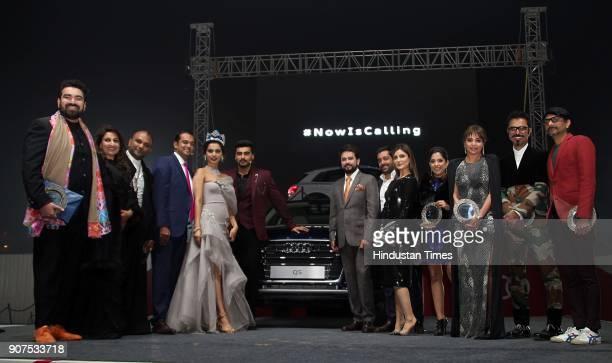Miss World 2017 Manushi Chhillar Bollywood Actor Arjun Kapoor Riddhima Kapoor Sahni BJP MP Anurag Thakur Socialite Kalyani Chawla Designer Gaurav...