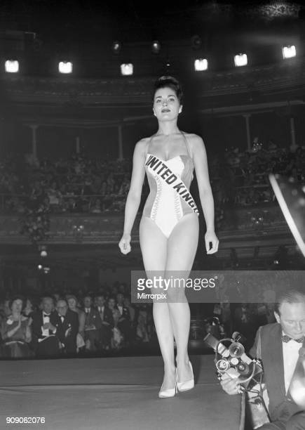 Miss World Beauty Contestant Lyceum Ballroom London 13th October 1958 Miss United Kingdom Eileen Sheridan