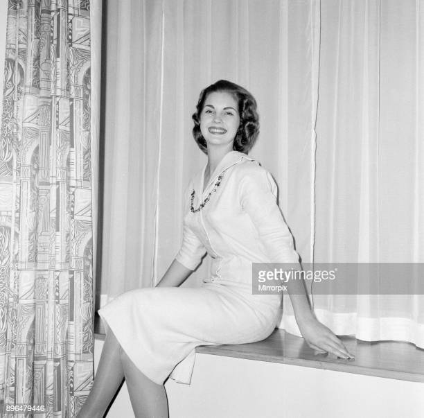 Miss World Beauty Contestants, 5th October 1958. Miss South Africa, Penelope Anne Coelen.
