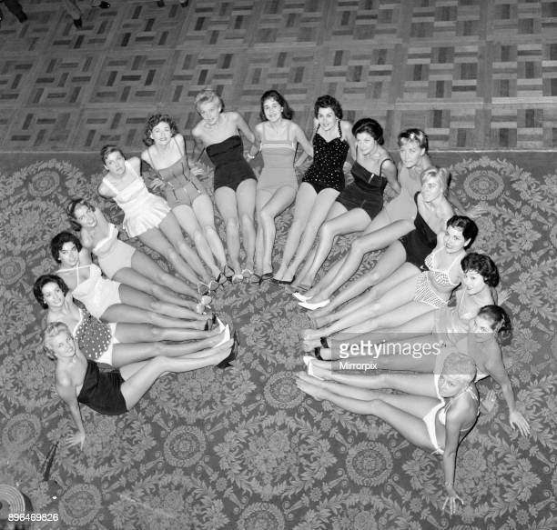 Miss World Beauty Contestants 6th October 1958
