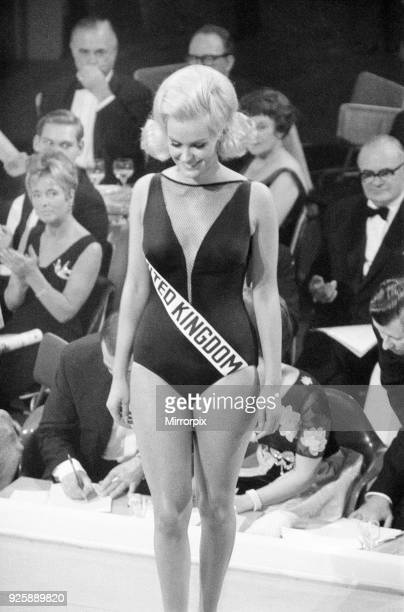 Miss World Competition Lyceum Ballroom London Friday 19th November 1965 Miss United Kingdom Lesley Langley