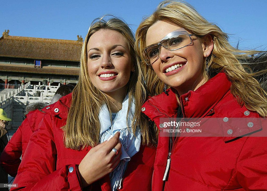 Miss world contestants rosanna davison o pictures getty images miss world contestants rosanna davison of ireland and diana sayers of northern ireland pose during a thecheapjerseys Images