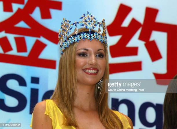 Miss World Rosanna Davison of Ireland says she is delighted to be going back to Sanya for the 2004 contest which will be held in December As with...