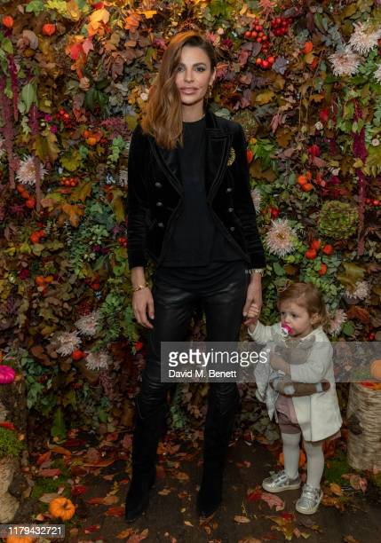 Misse Beqiri and River Bequiri attend the launch of the Frozen 2 collection for House of Fraser on November 2 2019 in London England